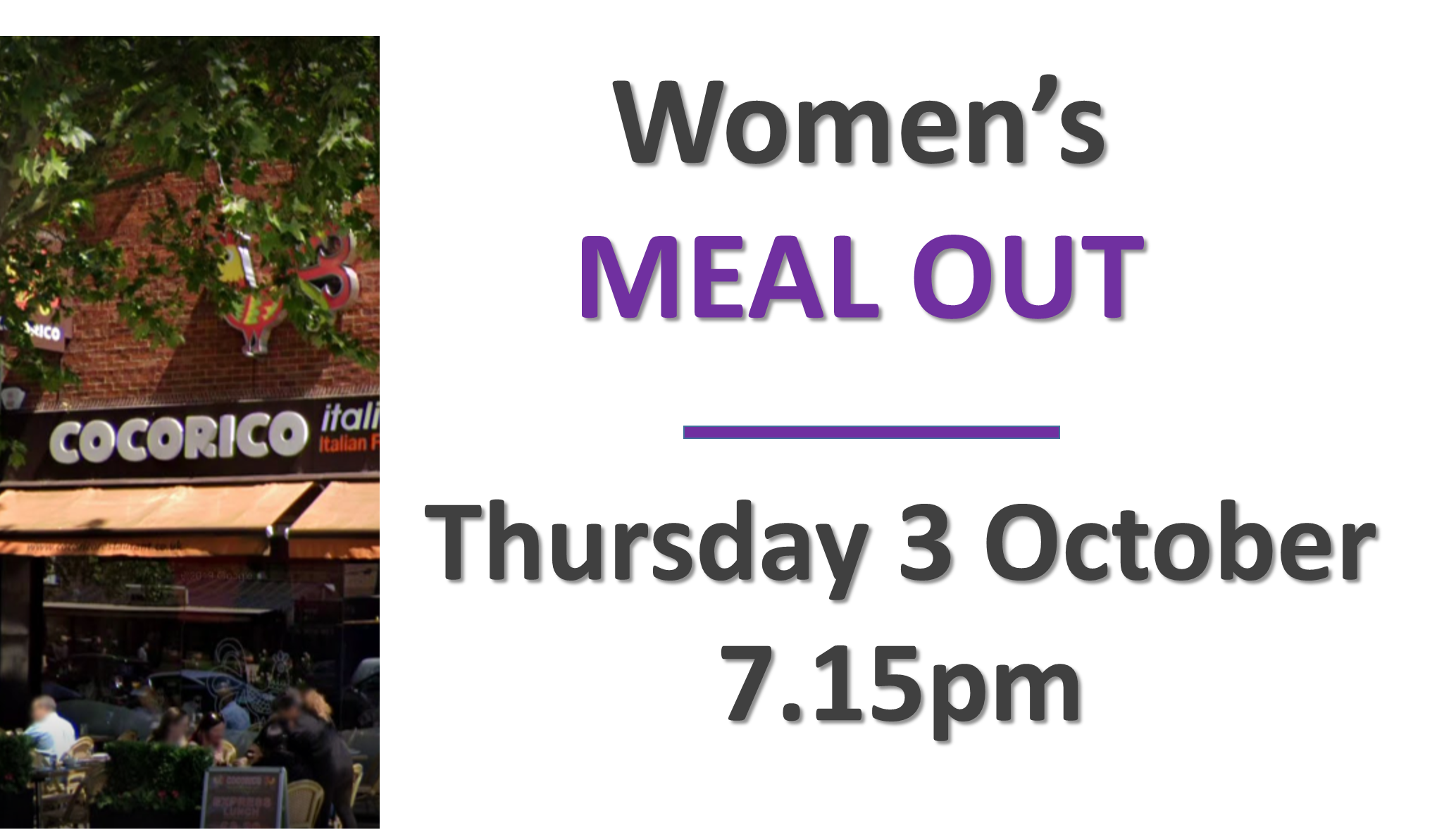 womens meal out